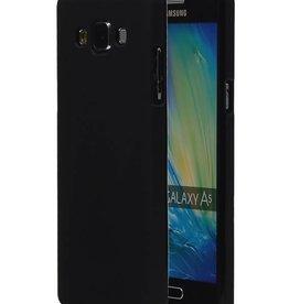 TPU Hoesje voor Galaxy A3 met verpakking Zwart