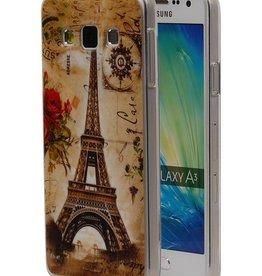 Eiffeltoren TPU Hoesje voor Galaxy A3
