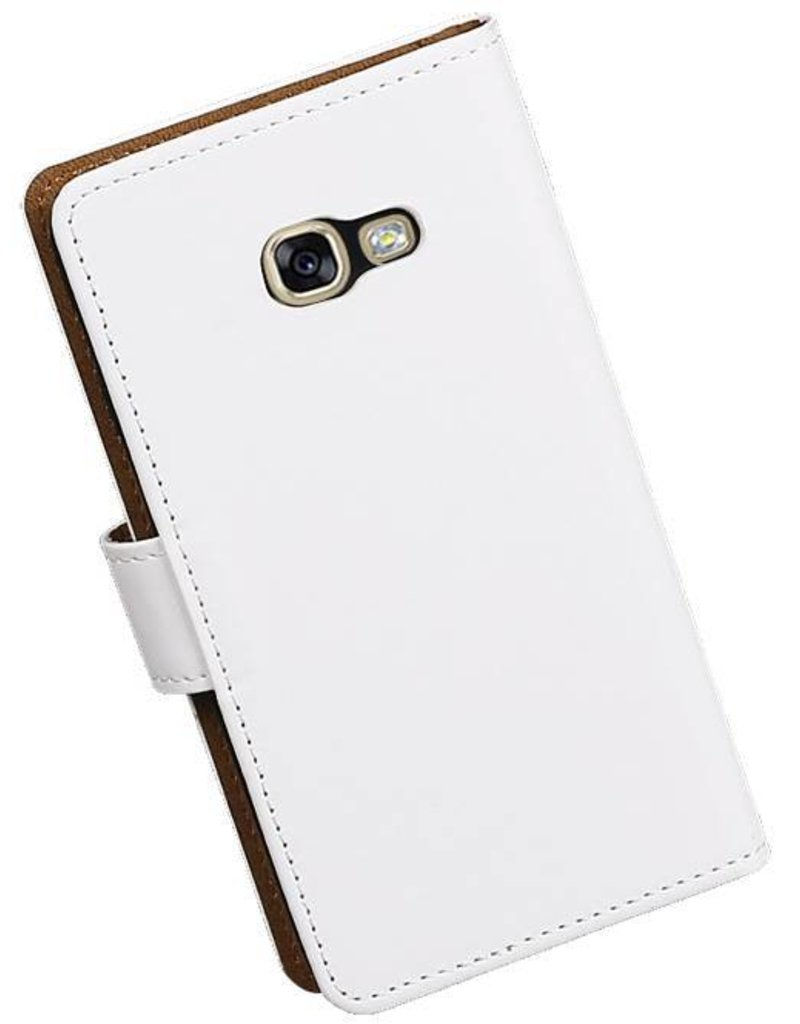 Bookstyle Hoes voor Galaxy A3 2017 A320F Wit