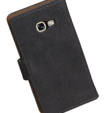 Bark Bookstyle Hoes voor Galaxy A3 2017 A320F Grijs