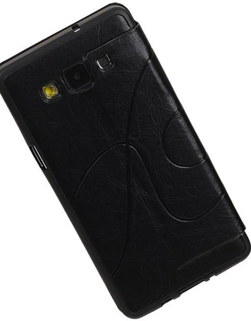 Easy Booktype hoesje voor Galaxy A5 Zwart