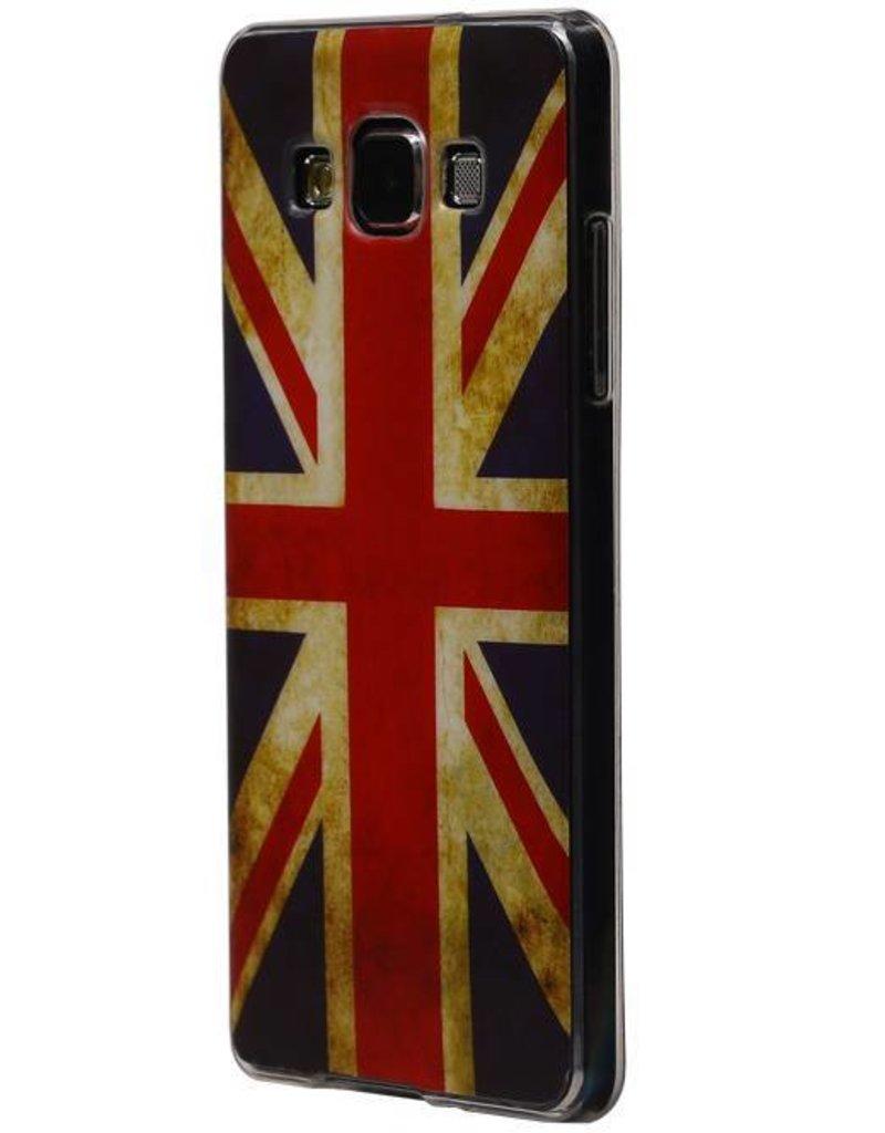 Britse Vlag TPU Hoesje voor Galaxy A5 UK