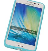Vlinder Standing TPU Case voor Galaxy A5 Turquoise