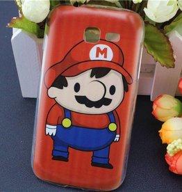 Samsung Galaxy Trend Lite  hoesje Super Mario