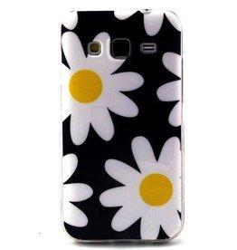 Samsung Galaxy Core Prime TPU Hoesje Flowers 2