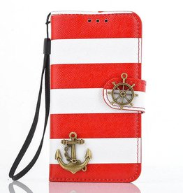 Samsung Galaxy S4 mini  Leren Wallet