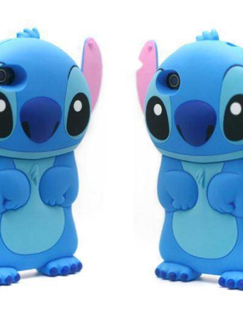 Iphone 4 hoesje Stitch Blauw