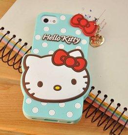 Iphone 4 (S) Hello Kitty Groen/Blauw
