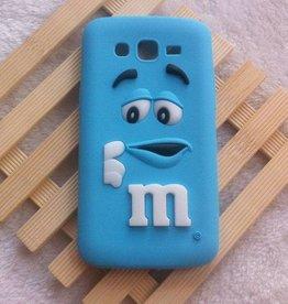 Samsung Galaxy Grand 2 M&M Blauw