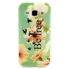 Samsung Galaxy J1 Hard TPU hoesje Bee Free