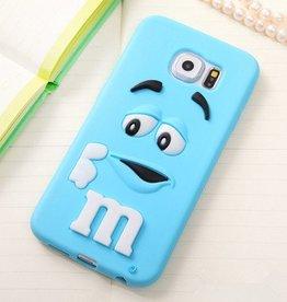 Samsung Galaxy S6 M&M Blauw