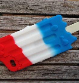 Iphone 4 (S) ijsje rood wit blauw
