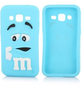 Samsung Galaxy Core Prime  M&M Blauw