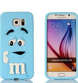 Samsung S6 Edge Samsung S6 Edge M&M  Blauw