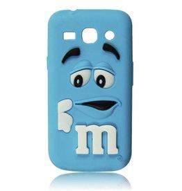 Samsung Galaxy Core Plus  M&M Blauw
