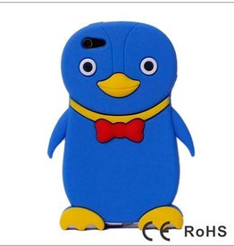 Ipod Touch 4 (G) Pinguin Paars-Blauw
