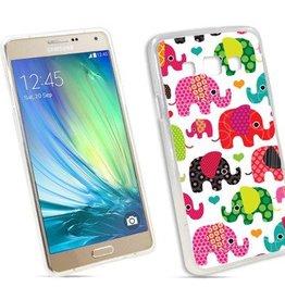 Samsung Galaxy A3 TPU hoesje Olifantjes