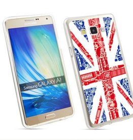 Samsung Galaxy A7 TPU hoesje UK vlag