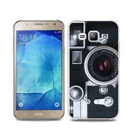 Samsung Galaxy J7 TPU hoesje Fotocamera Retro