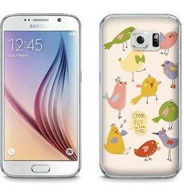 Samsung Galaxy S6 TPU Hoesje Come fly with me