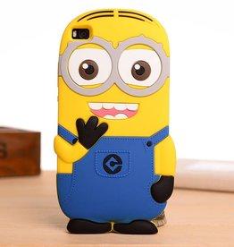Huawei P8 Lite Minion licht blauw