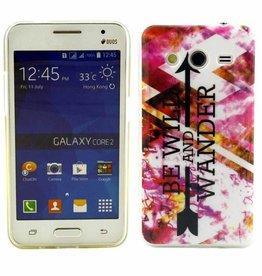 Samsung Galaxy Core 2 TPU soft case hoesje We Wild