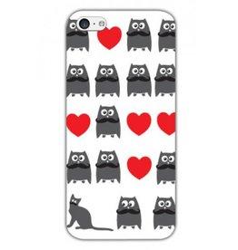 Iphone 5C Cat and Owl