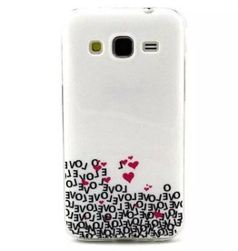 Samsung Galaxy Core Prime TPU hoesje LOVE