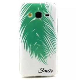Samsung Galaxy Core Prime TPU hoesje Smile