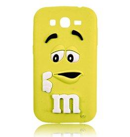 Samsung Galaxy Core Prime siliconen M&M Geel