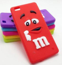 Huawei P8 Lite M&M Rood