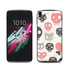 Alcatel One Touch Idol 3 Skulls Pink