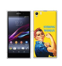 Sony Xperia Z1  Strong Woman