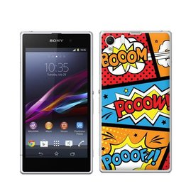 Sony Xperia Z1 TPU  Pooof Booom
