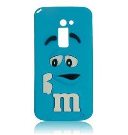 LG Optimus G2 M&M Blauw
