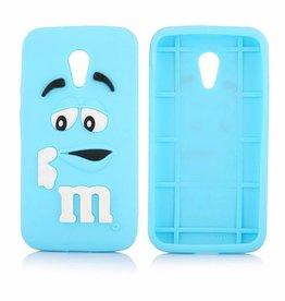 Motorola Moto G2  M&M Blauw