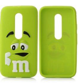 Motorola Moto G3  M&M Groen