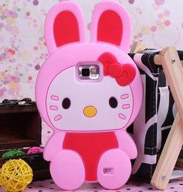 Hello Kitty  Rose voor Samsung Galaxy S2