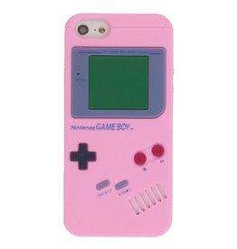 Iphone 5 (S)  Game Boy Licht rose