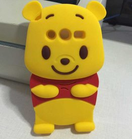 Samsung Galaxy Core 2 Siliconen hoesje Winnie the Pooh