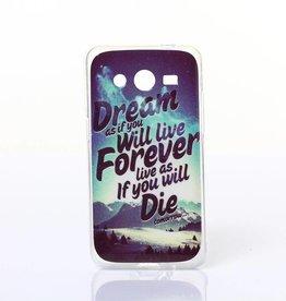 Samsung Galaxy Core 2 TPU hoesje DREAM