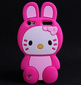 Ipod Touch 5 (G) en 6 (G) Hello Kitty Bunny Rose