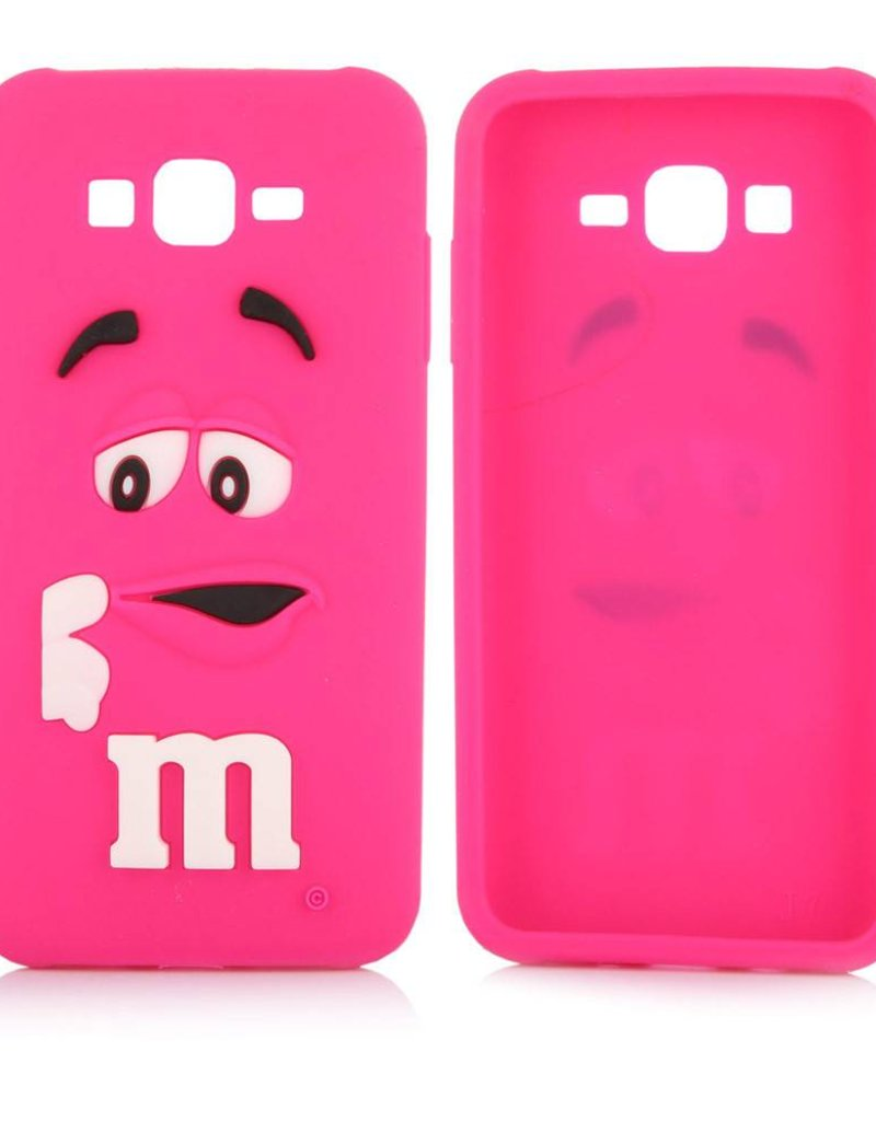 Samsung Galaxy J5 (2015) siliconen hoesje M&M Rose