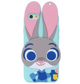Iphone 5 (S) Siliconen hoesje Zootopia Judy