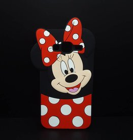 Samsung Galaxy J3 (2016) siliconen hoesje Minnie Mouse