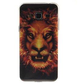 Samsung Galaxy J3 (2016) TPU hoesjes Lion