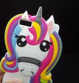 Huawei Ascend P8 Lite hoesje Rainbow Unicorn