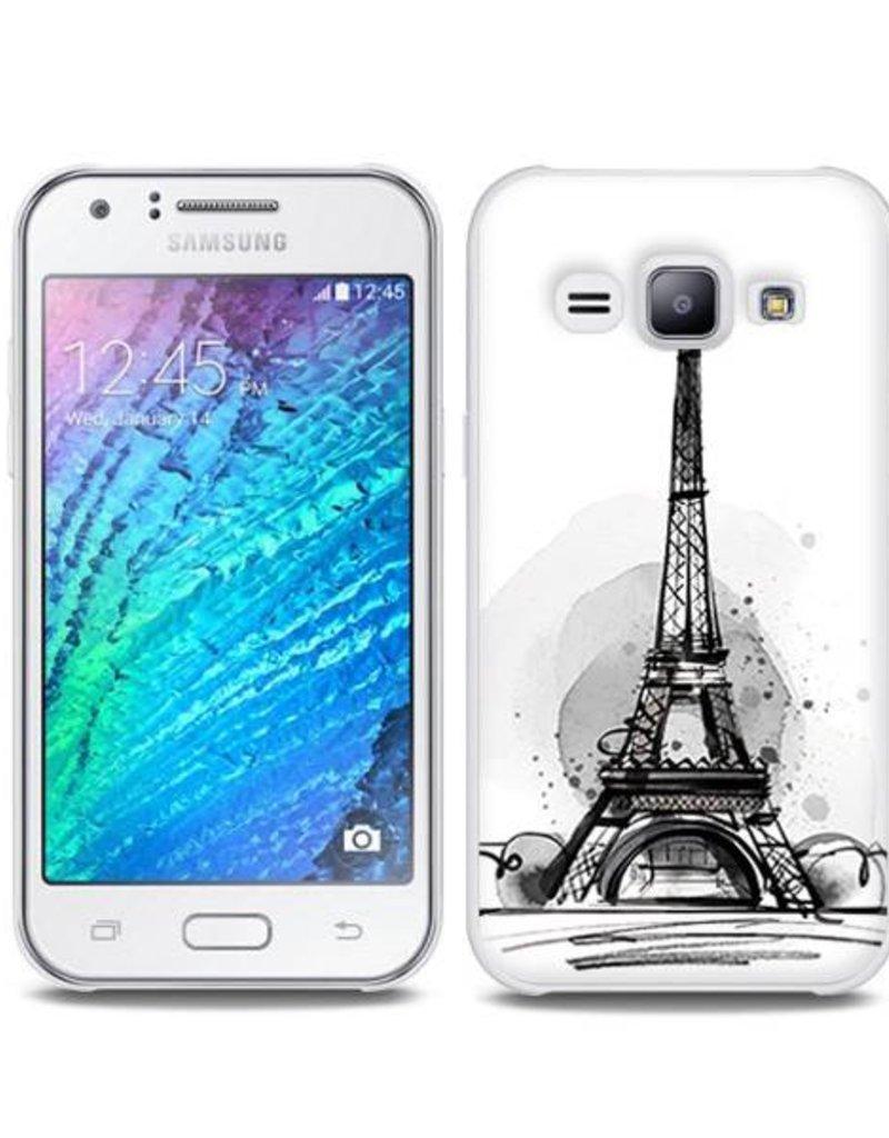 Samsung Galaxy J5 (2015)TPU Hoesje PARIJS