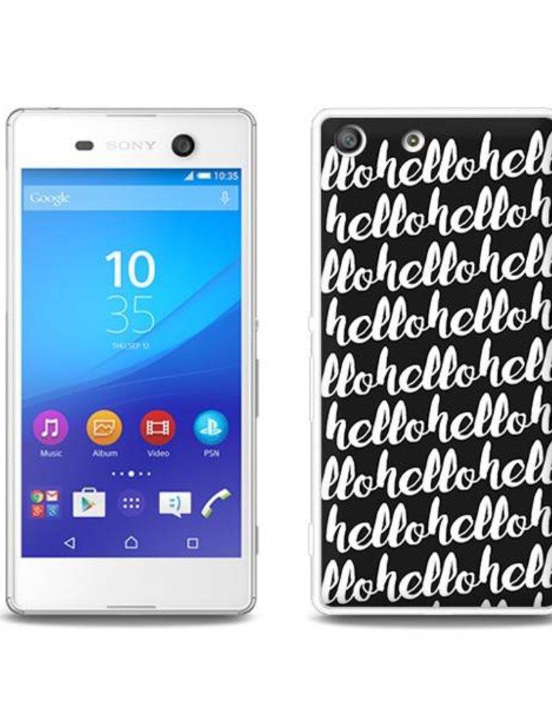 Sony Xperia M5 TPU Hoesje HELLO