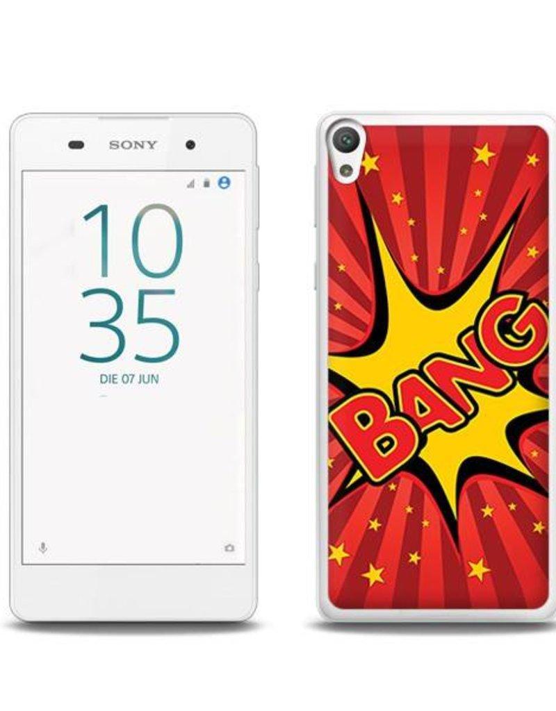 Sony Xperia E5 TPU Hoesje BANG